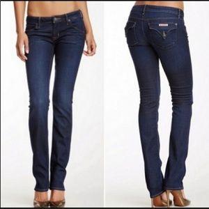 HUDSON 28 Waist Carly Straight Leg Jeans